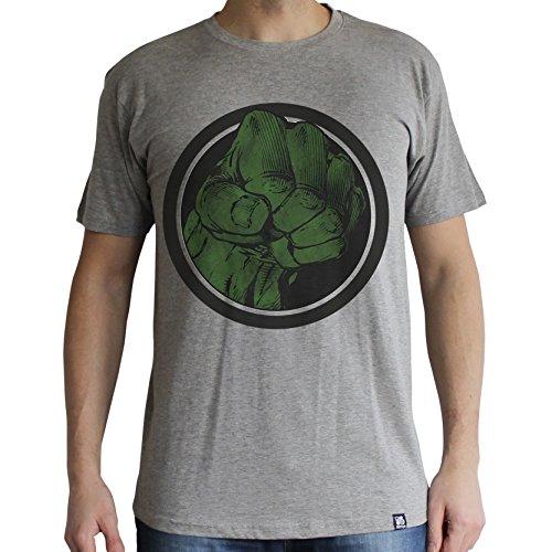 ABYstyle abystyleabytex404-s Marvel Hulk Smash uomo manica corta Basic t-shirt (Small)