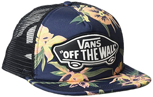 Vans_Apparel Damen Baseball Cap Beach Trucker Hat, Mehrfarbig (Fall Tropics), One size (Girl Vans Beach)