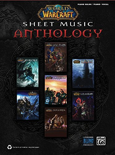 World of Warcraft Sheet Music Anthology: Piano Solos & Piano/Vocal by Staff, Alfred Publishing (2011) Paperback