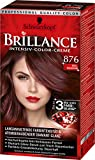 Brillance Intensiv-Color-Creme 876 Edelmahagoni, 3er Pack (3 x 143 ml)