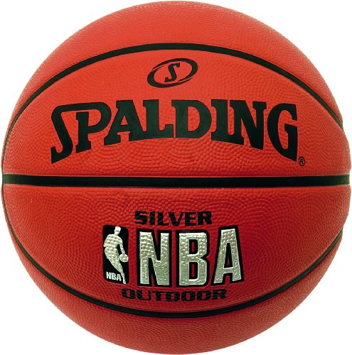 Spalding Silver Outdoor Palla da basket NBA