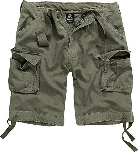 Brandit Herren Urban Legend Shorts, Grau (Olive 1), 58 (Herstellergröße: 3XL) (Fashion Herren Cargo Shorts)