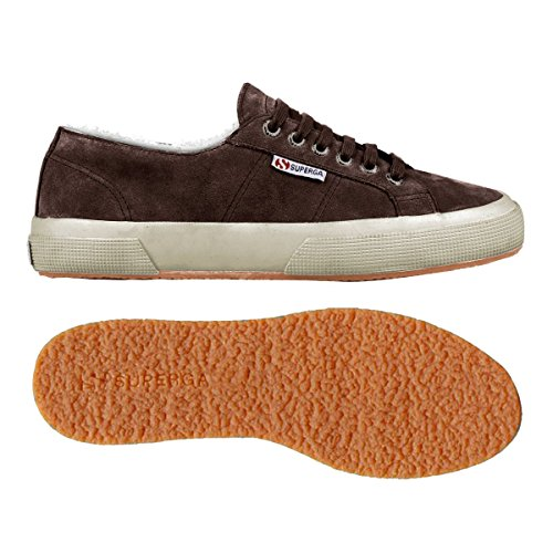 Le Superga Chaussures - 2750-sueu Microfleece Brun Dk Chocolat
