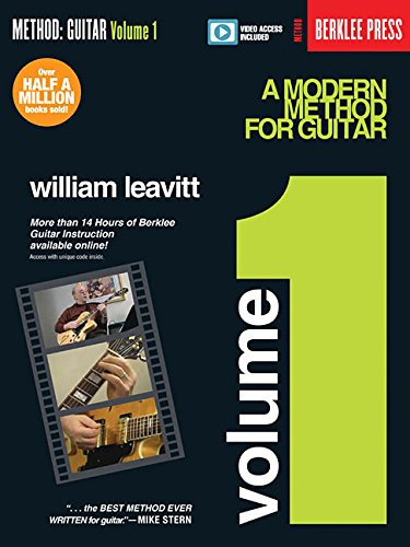 A Modern Method for Guitar - Volume 1: Book With More Than 14 Hours of Berklee Video Guitar Instruction. par William Leavitt