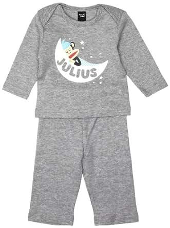 Paul Frank Small Paul Unisex Baby PF8310W2 Pyjamas Grey 3 Months