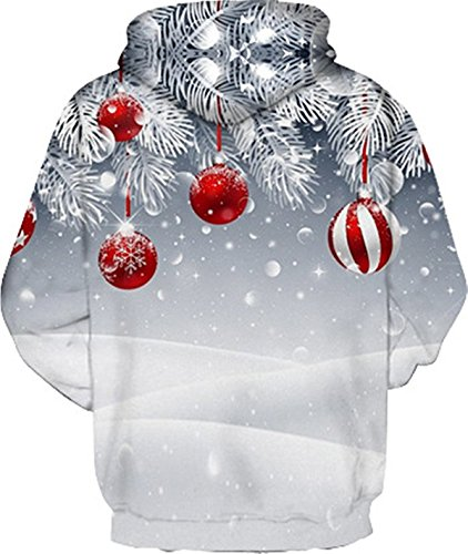 Meridiaga - Sweat-shirt - Femme Christmas Balls