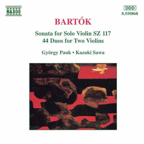 44 Duos for 2 Violins, BB 104, Vol. 2: Szunyogtanc (Mosquito Dance)