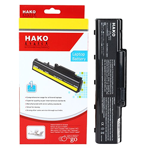 Hako Acer Aspire 4736Z  AS07A51 6 Cell Laptop Battery Black