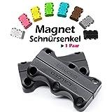 Magnetische Schuhbinder- Schnürsenkel mit Schnellverschluss!optimal für Sport, Sneaker und Wandern- Schnellschnürsystem Lock