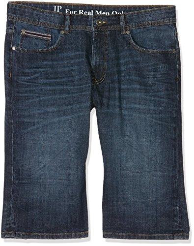 JP 1880 Große Größen Herren Shorts Bermuda Denim Blau (Bleached 92), 62 - Große Mens T-shirt