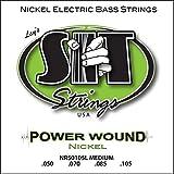 SIT NR50105L Set de 4 cordes pour basse Medium Nickel 50-70-85-105