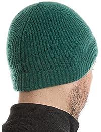 Amazon.it  cappello cashmere - Verde   Uomo  Abbigliamento 45d75e0772e1