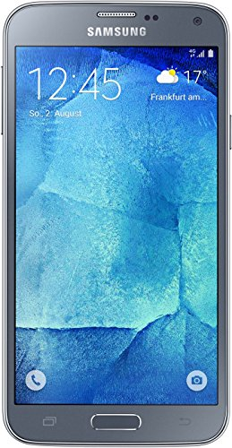 Samsung Galaxy S5 neo Smartphone (5,1 Zoll (12,9 cm) Touch-Display, 16 GB Speicher, Android 5.1) silber - Prepaid-handy-chip