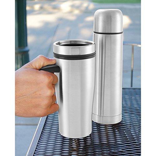 sharper-image-2-piece-thermal-mug-and-flask-set-by-sharper-image