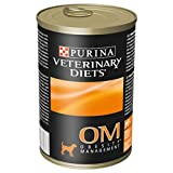 Purina Pro Plan Veterinary Diets Om Obesity Management Wet Dog Clinical Diet Food Mousse Can, 400g - Pack of 12