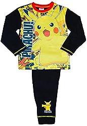 Pokemon Pikachu Jungen-Nachtwäsche Schlafanzug PJs 11-12 Jahre