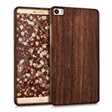 kwmobile Holz Hülle für Huawei P8 Max Case Rosenholz -