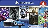 Sony PlayStation VR Mega Pack, Avec Casque PS...