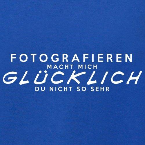 Fotografieren macht mich glücklich - Damen T-Shirt - 14 Farben Royalblau