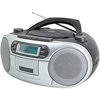 philips az127 portable cd player with radio cassette. Black Bedroom Furniture Sets. Home Design Ideas