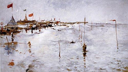 Herren Coney Island (Das Museum Outlet-Coney Island-von Brighton Pier, 1879-80-A3Poster)