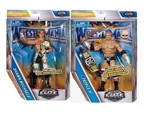 Shawn Michaels & Dreifach H (Beide Figuren) Wrestlemania 33 Elite Serie Neu Im Angebot (Shawn Michael Wwe Spielzeug)