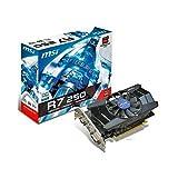 MSI V302-001R R7 250 1GD5 OC Grafikkarte (1GB GDDR5, DVI, HDMI, 2S, 1 GPU)