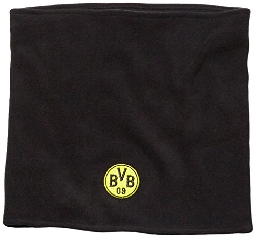 PUMA Schal BVB Neck warmer, Black/Cyber Yellow, One size, 052716 01