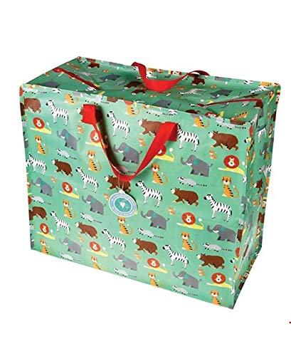 Dotcomgiftshop XXL Jumbo Tasche Animal Park (Jumbo Kunststoff Geschenk-taschen)