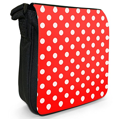 Fancy A Snuggle, Borsa a tracolla donna Punkte Rot