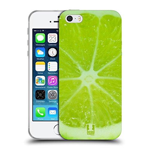 Head Case Designs Giallo Fuzzballs Cover Morbida In Gel Per Apple iPhone 7 / iPhone 8 Lime