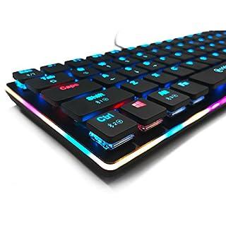 anidees AI-KB-PM Ultra dünne kompakte Größe Draht / drahtlose RGB Prismatic gaming tastatur mechanisch 67 Tasten-US-Layout QWERTY