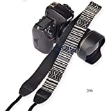 SYGA 1 Piece Black Coloured DSLR Camera Shoulder Strap