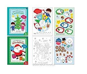 Interdruk MAA4ZCKL Divertido Libro de Colorear con números/Formas/Letras A4 16 con Pegatinas