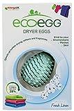 NEW DESIGN - Ecoegg Dryer Eggs - Fresh Linen Scent. Pack of 2