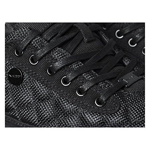 Baskets basses QUANDRI SHINE par VO7 Noir