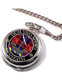 Menteath Clan Escocés Escudo Reloj de Bolsillo