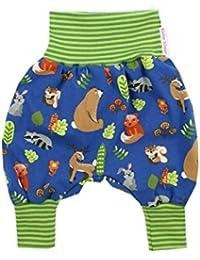Kleine K/önige Pumphose Baby M/ädchen Jungen Hose /· Modell Uni Hellgr/ün /· /Ökotex 100 Zertifiziert /· Gr/ö/ßen 50-104