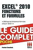 Excel 2010 Fonctions et Formules...