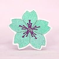 Blüte Patch Aufnäher Mint