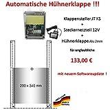 Aktion vom Hersteller !!! Automatische Hühnerklappe + Steckernetzteil + Klappe bzw. Schieber