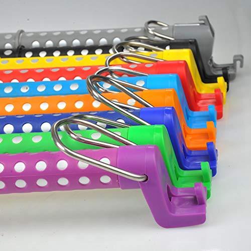YIJIA-Feng Auto-Kleiderstange, im Auto Rutschfeste, einstellbare Kleiderstange Multifunktions-Multicolor-Kleiderbügel (Farbe : Dunkelblau)