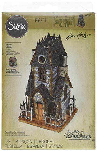 Sizzix 661591 Bigz L Stanzform Village Manor by Tim Holtz -