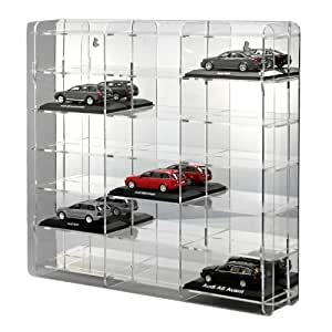 modellauto vitrine 1 43 mit spiegelr ckwand. Black Bedroom Furniture Sets. Home Design Ideas