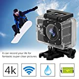 Dailyinshop Professional Action Camera Set EK7000 Ultra HD Wireless Sports Action Camera