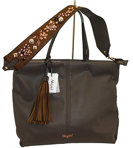 Borsa shopping due manici BLUGIRL BG 830002 women bag marrone