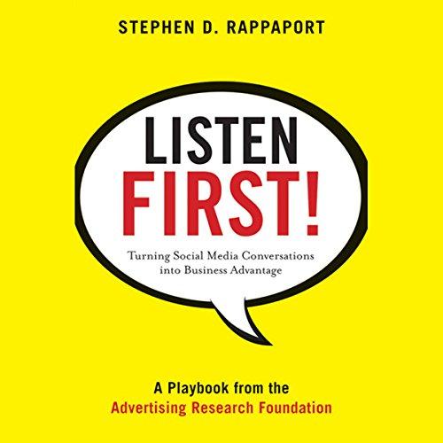 Listen First!  Audiolibri