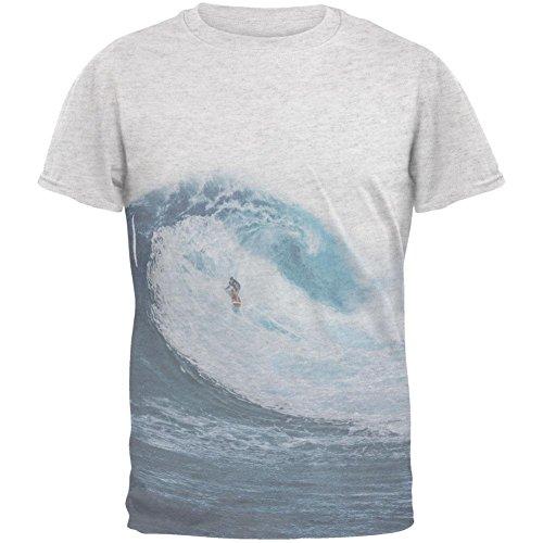 Sommer-Sun Surfer-Pipeline-Herren-T-Shirt White