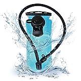 Blusmart Trinkbeutel 3L Trinkblase Auslaufsicher Trinksystem Blase Geruchsfrei Wasser Beutel reservoir für Touren