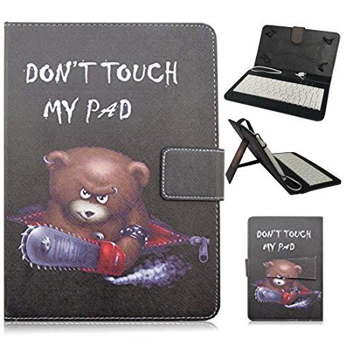 Kimiyoo MICRO-07-DJX+T330 Tablet-Schutzhülle, Samsung Galaxy Tab 4 8 inch, bär, Stück: 1 Universal-charge-bar